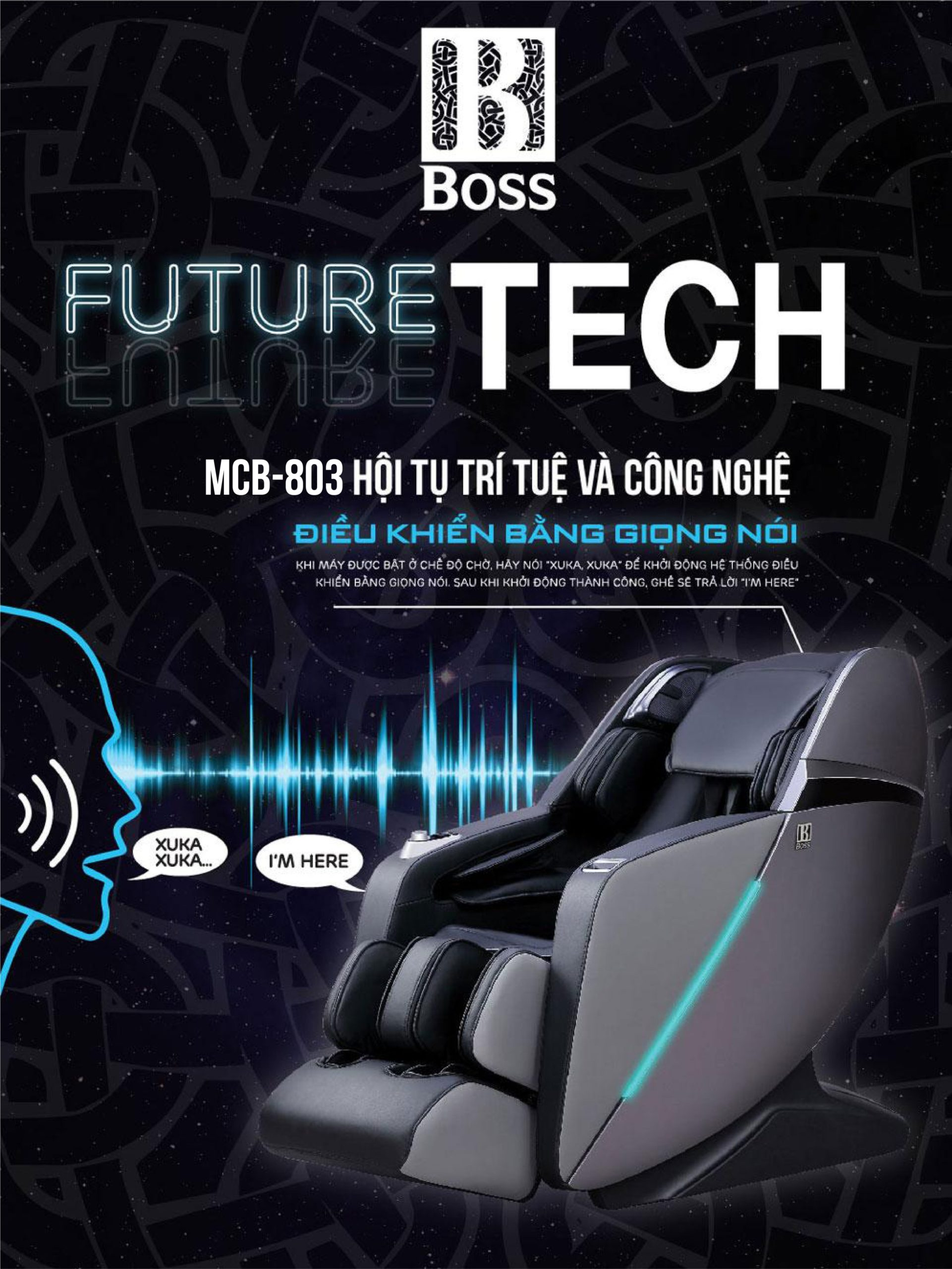 Ghế massage Boss MCB-803