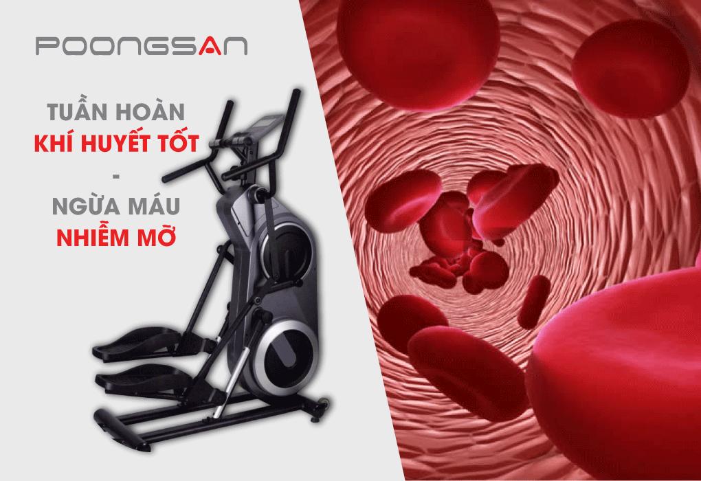 Giúp tuần hoàn khí huyết tốt, ngăn ngừa máu nhiễm mỡ