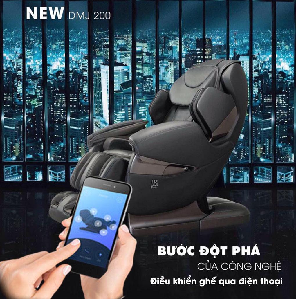 Điều khiển ghế MCB-802 qua điện thoại dễ dàng hơn bao giờ hết