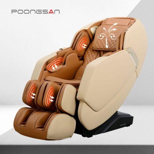 Ảnh sản phẩm Ghế massage Poongsan chuyên sâu lưng cổ vai gáy MCP-300
