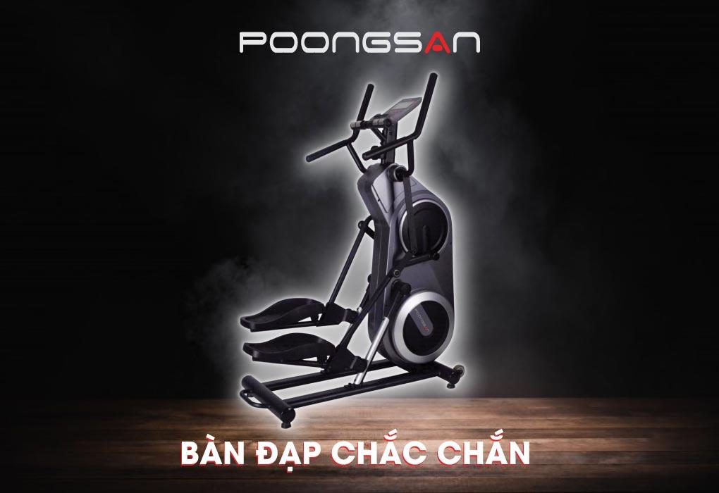 Xe đạp thẩm mỹ Poongsan BSP-802 - Xe tập thể lực cho mọi nhà