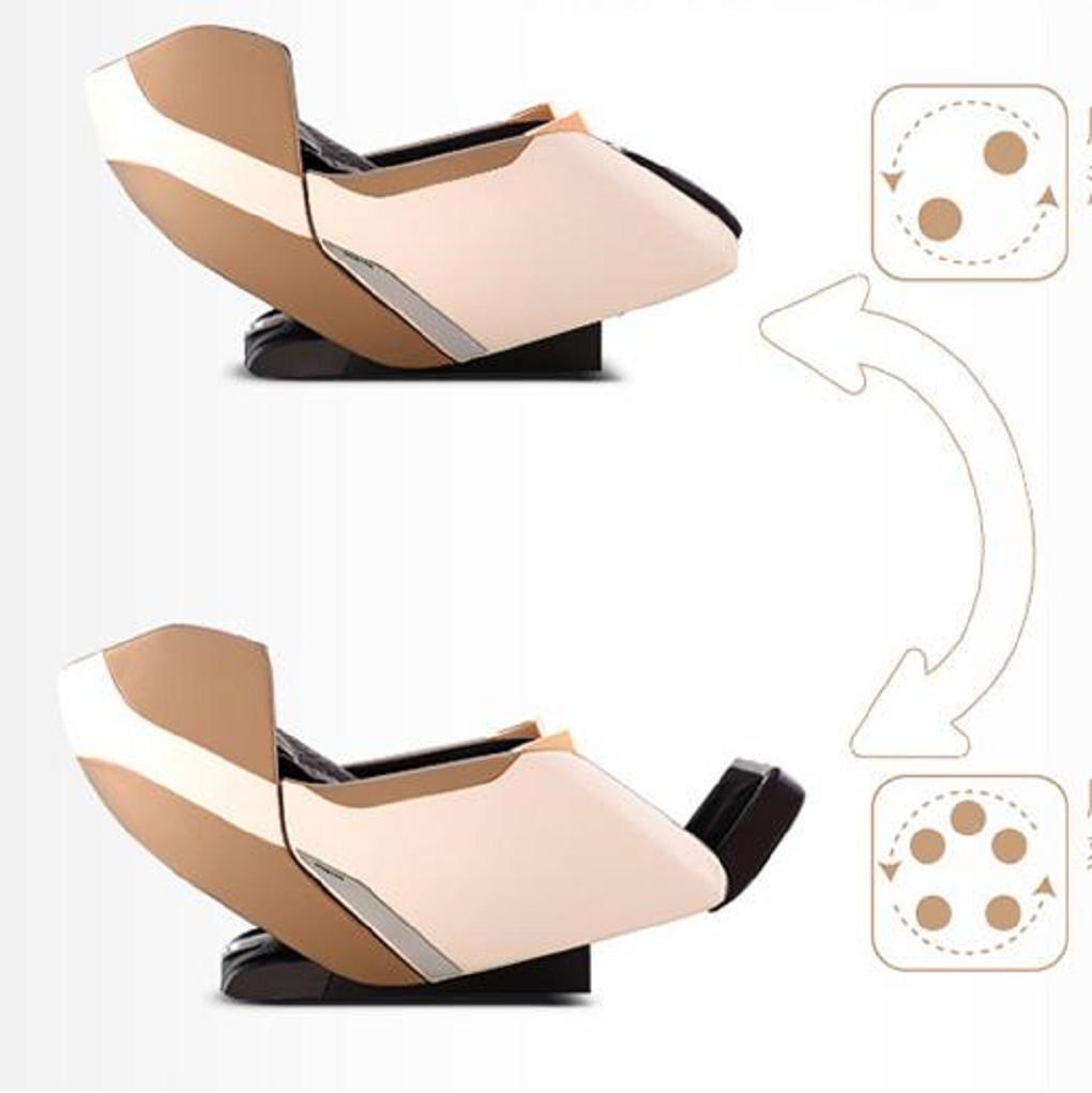 Ghế massage Poongsan MCP-122 - Massage đa chiều 3D L-Shape công nghệ mới