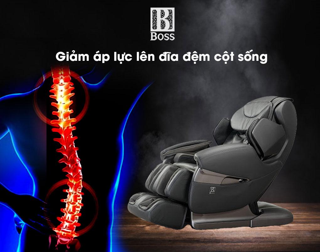 Ghế massage MCB-802 - Giảm áp lực lên đĩa đệm cột sống nhờ nguồn nhiệt hồng ngoại