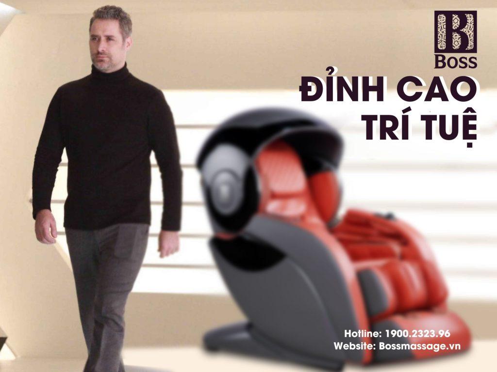 Ghế massage Boss MCB-901 - Thiết kế Siêu Việt thế hệ mới