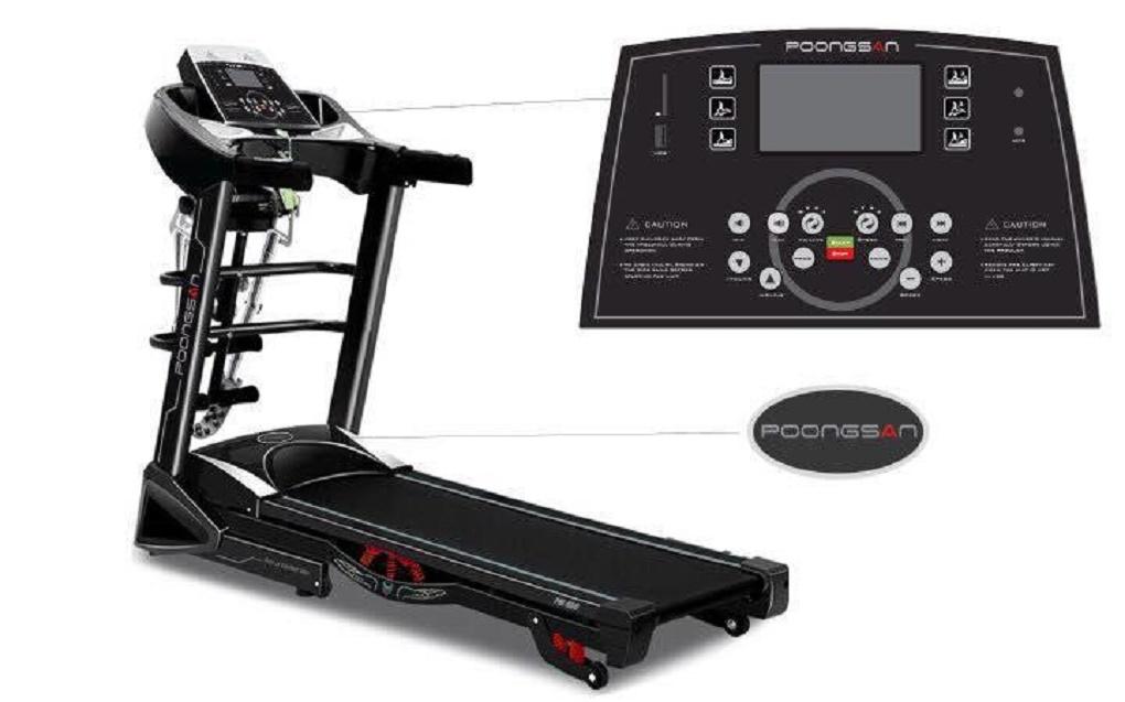 Máy tập chạy bộ Poongsan TMP-900 - Thiết bị chăm sóc sức khỏe cho mọi nhà