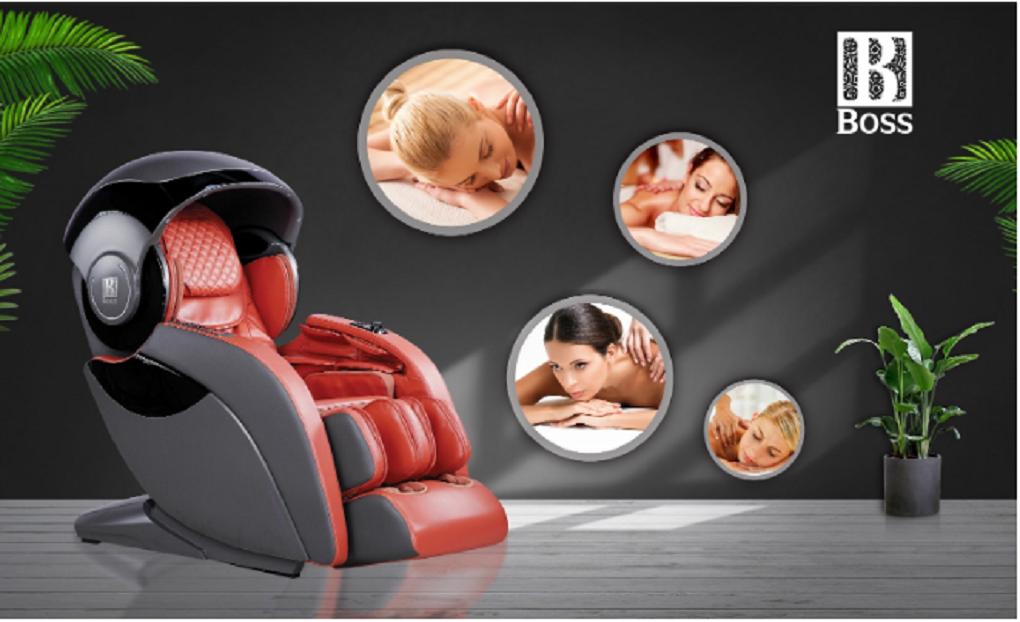 Chữa đau nhức chân bằng ghế massage thông minh