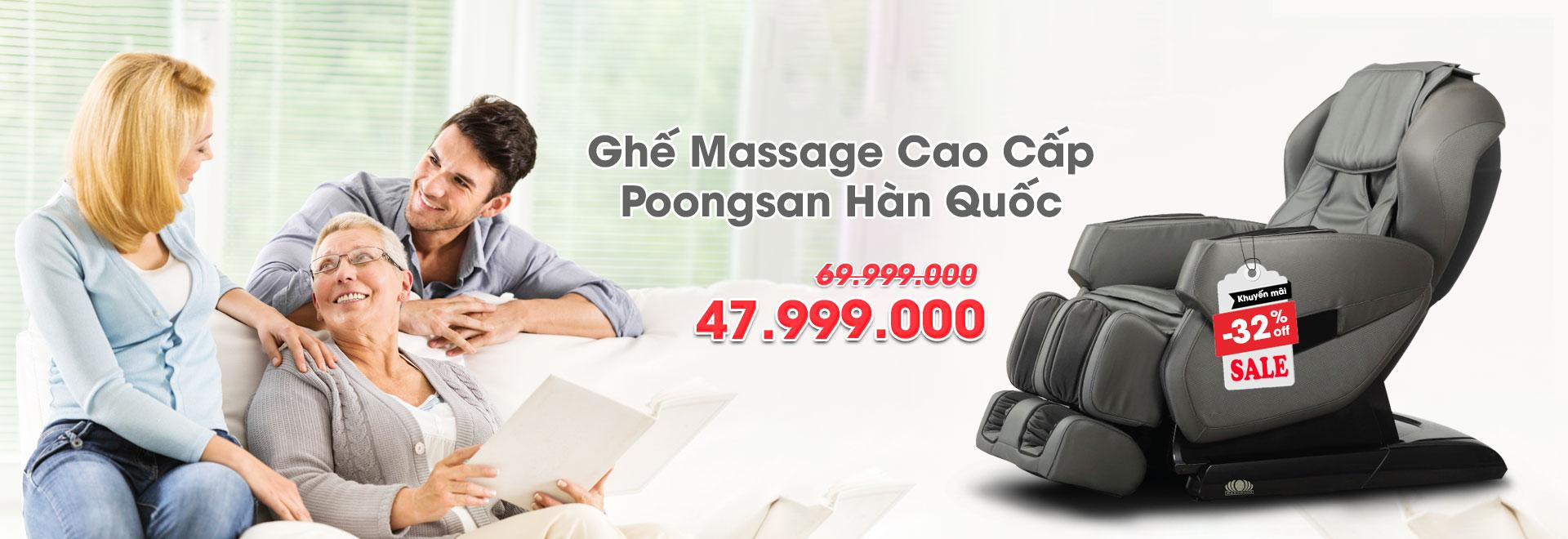 Ghế Massage Poongsan