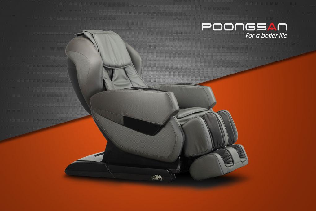ghế massage Poongsan MCP-200 giá dưới 150 triệu