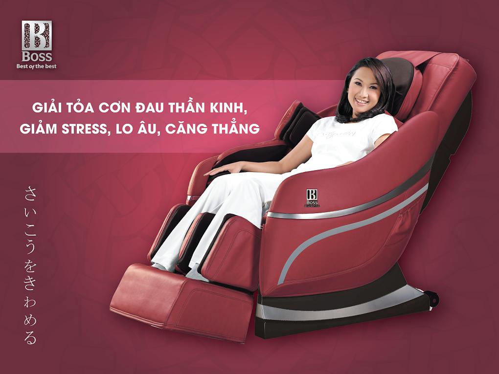 Ghế massage DMJ 189 giảm stress, lo âu, căng thẳng