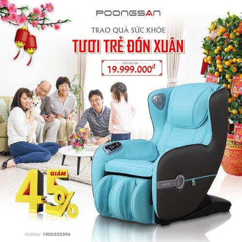 Ảnh sản phẩm Ghế massage Poongsan MCP-128