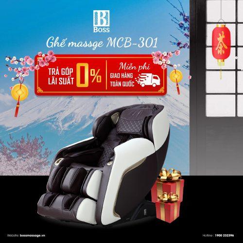 Ảnh sản phẩm Ghế massage cao cấp Boss MCB-301