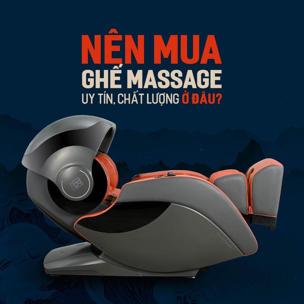 nên mua ghế massage uy tín, chất lượng ở đâu