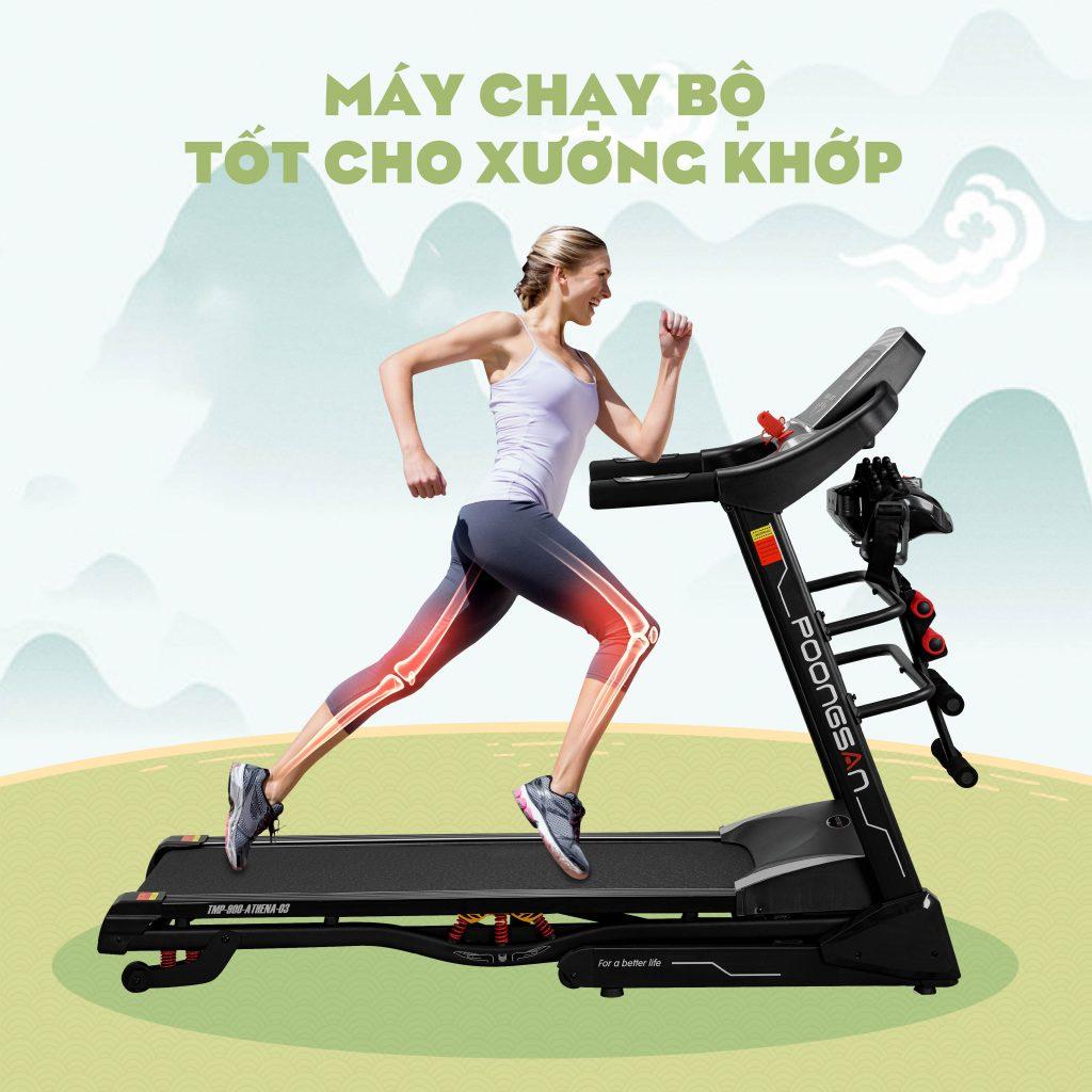 máy chạy bộ tốt cho xương khớp