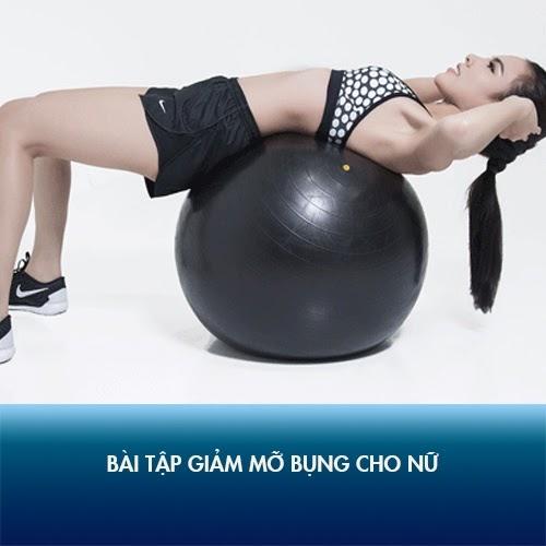 Bài tập giúp giảm mỡ và cột sống dẻo với quả bóng