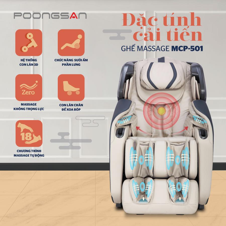 ghe massage Poongsan MCP-501