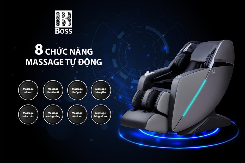Ghế massage toàn thân Boss MCB-803